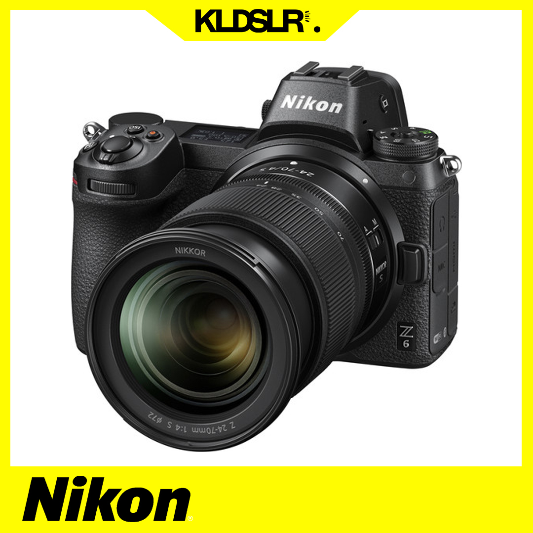 Nikon Z6 Mirrorless Digital Camera with 24-70mm Lens (NEW THREE (3) MONTH WARRANTY)
