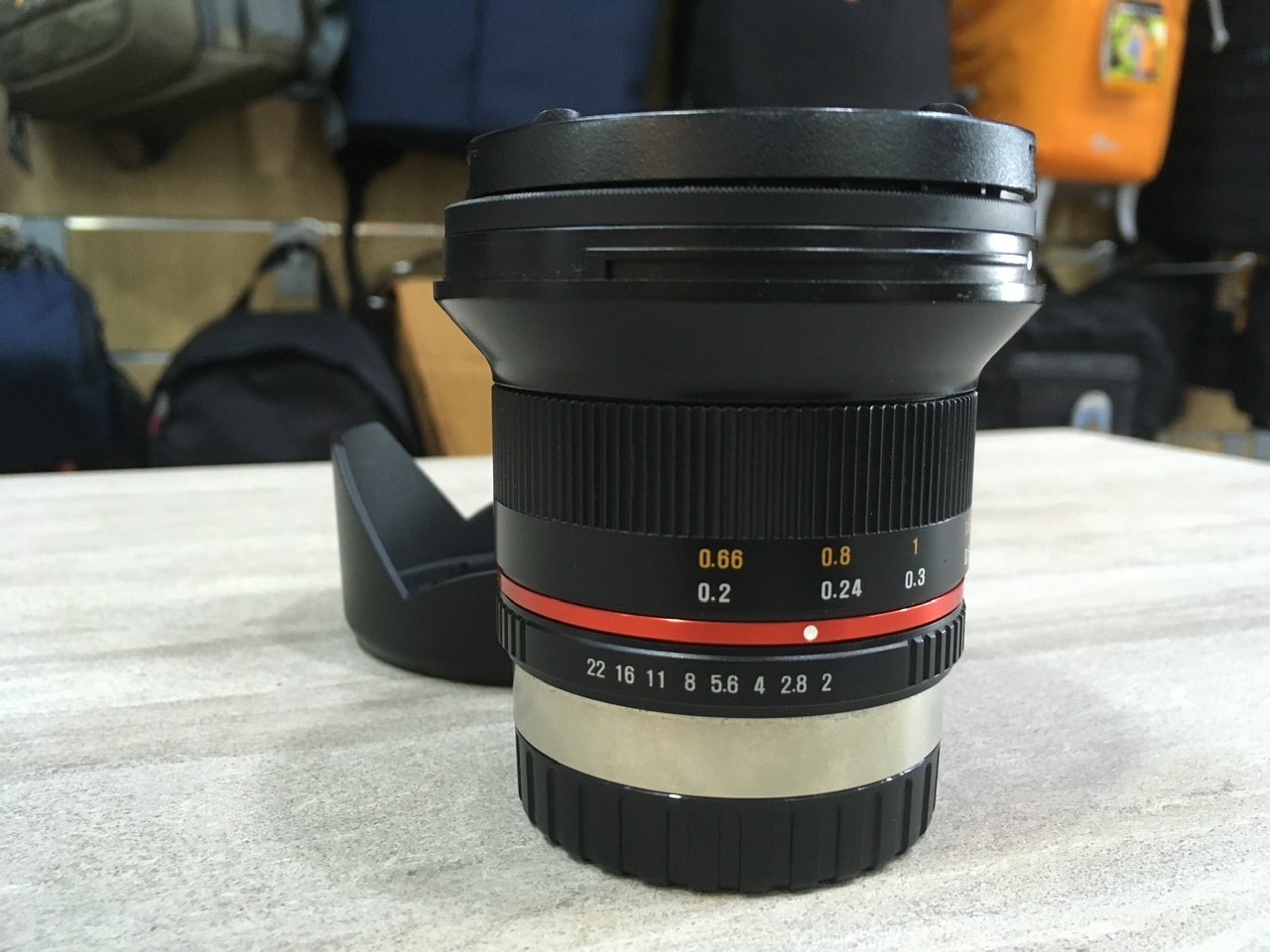 Used - Samyang 12mm F2 NCS CS Lens (Fujifilm)