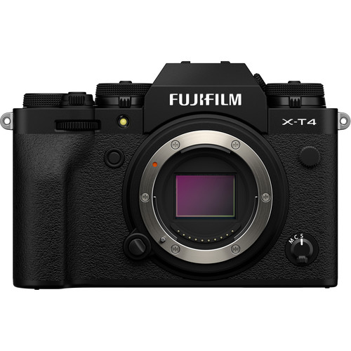 FUJIFILM X-T4 Mirrorless Digital Camera (Body Only, Black) (NEW THREE (3) MONTH WARRANTY) (XT4)