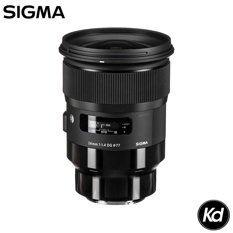Sigma 24mm F1.4 DG HSM Art Lens for Sony FE Mount (Sigma Malaysia Warranty)