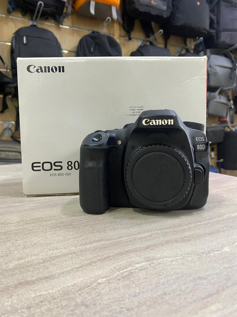 Used - Canon 80D (body only)