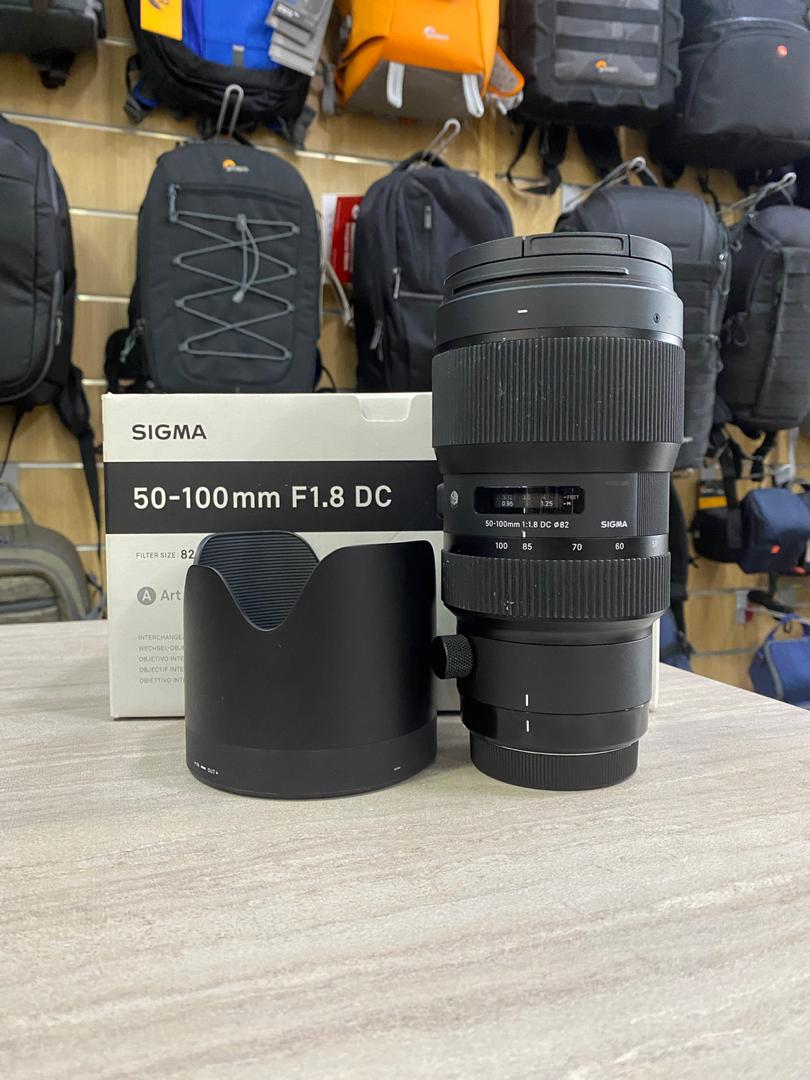 Used - Sigma 50-100mm F1.8 DC Art Lens  (Canon)